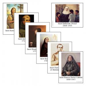 Catholic Schoolhouse Tour 1 Classroom Display Pictures - Saints