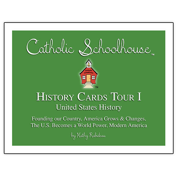 Catholic School House Tour 1 History Cards Set