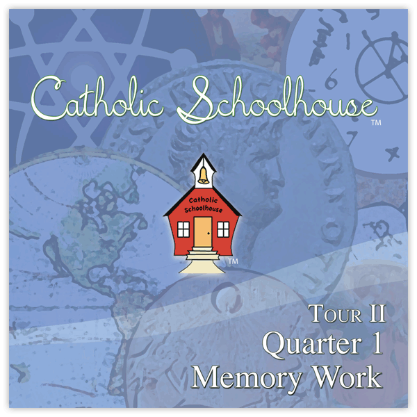 Catholic School House Tour 2 Memory Work CD