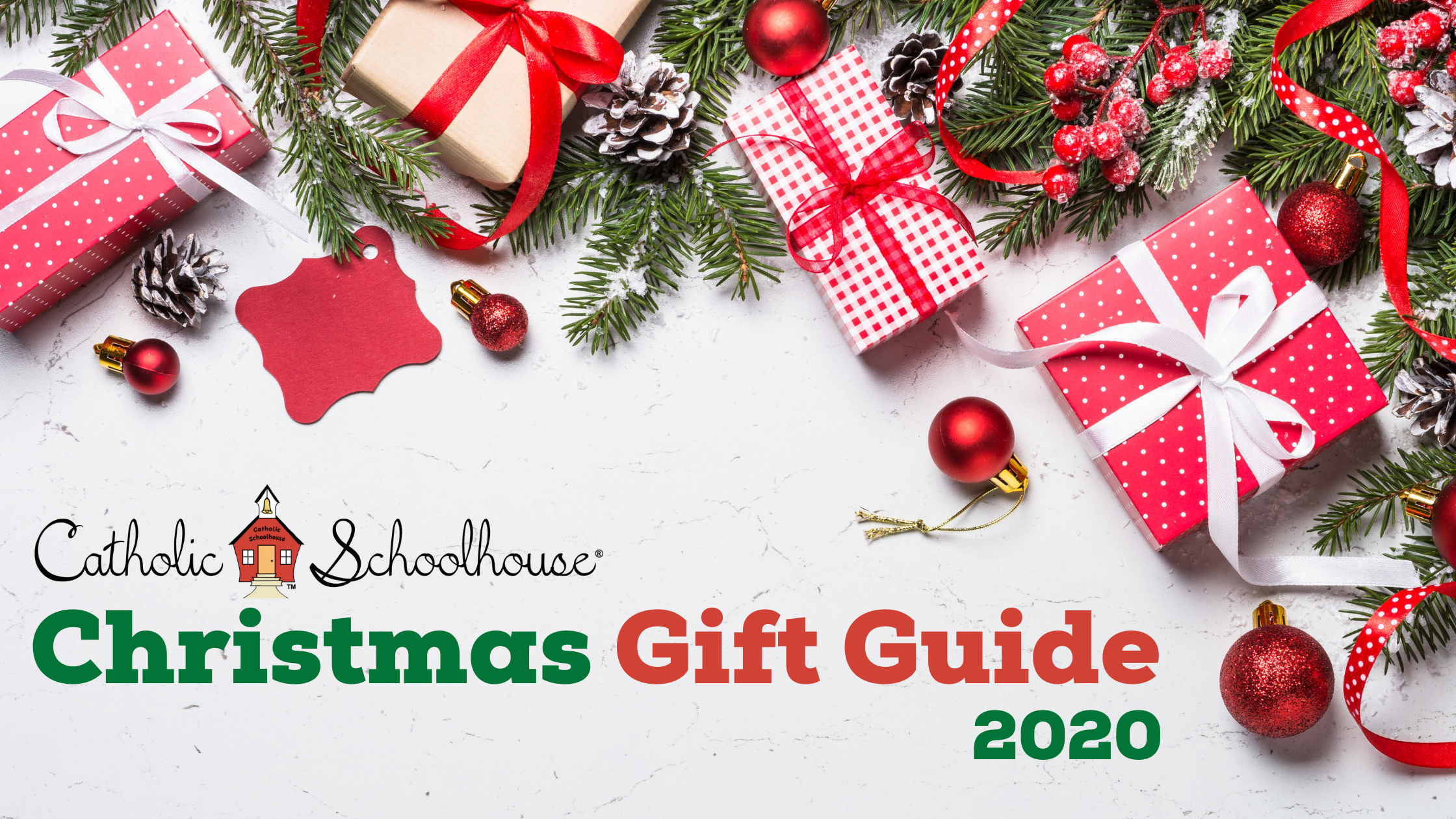 Catholic Schoolhouse Christmas Gift Guide 2020