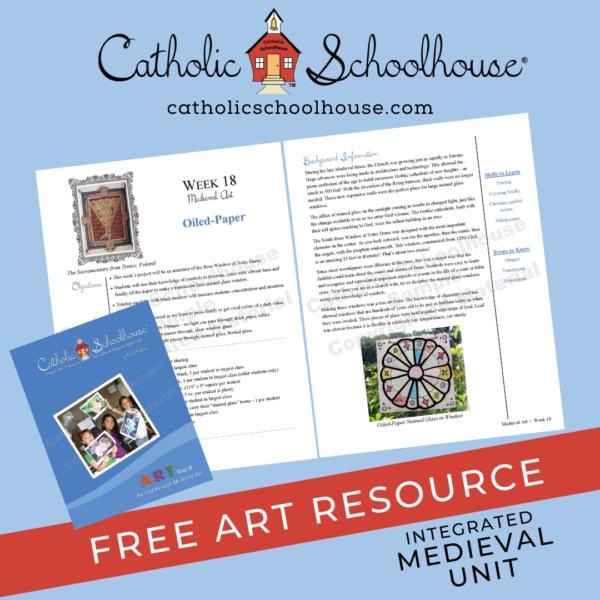 Catholic Schoolhouse Free Art Curriculum Sample