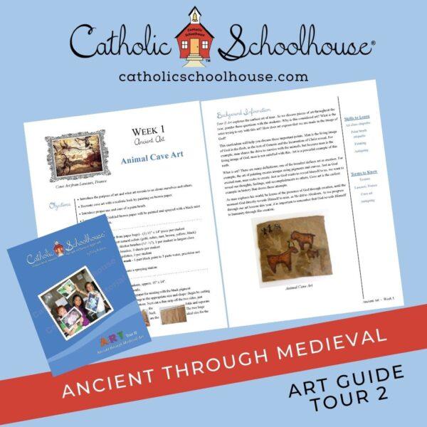 Catholic Schoolhouse Tour 2 Art Guide