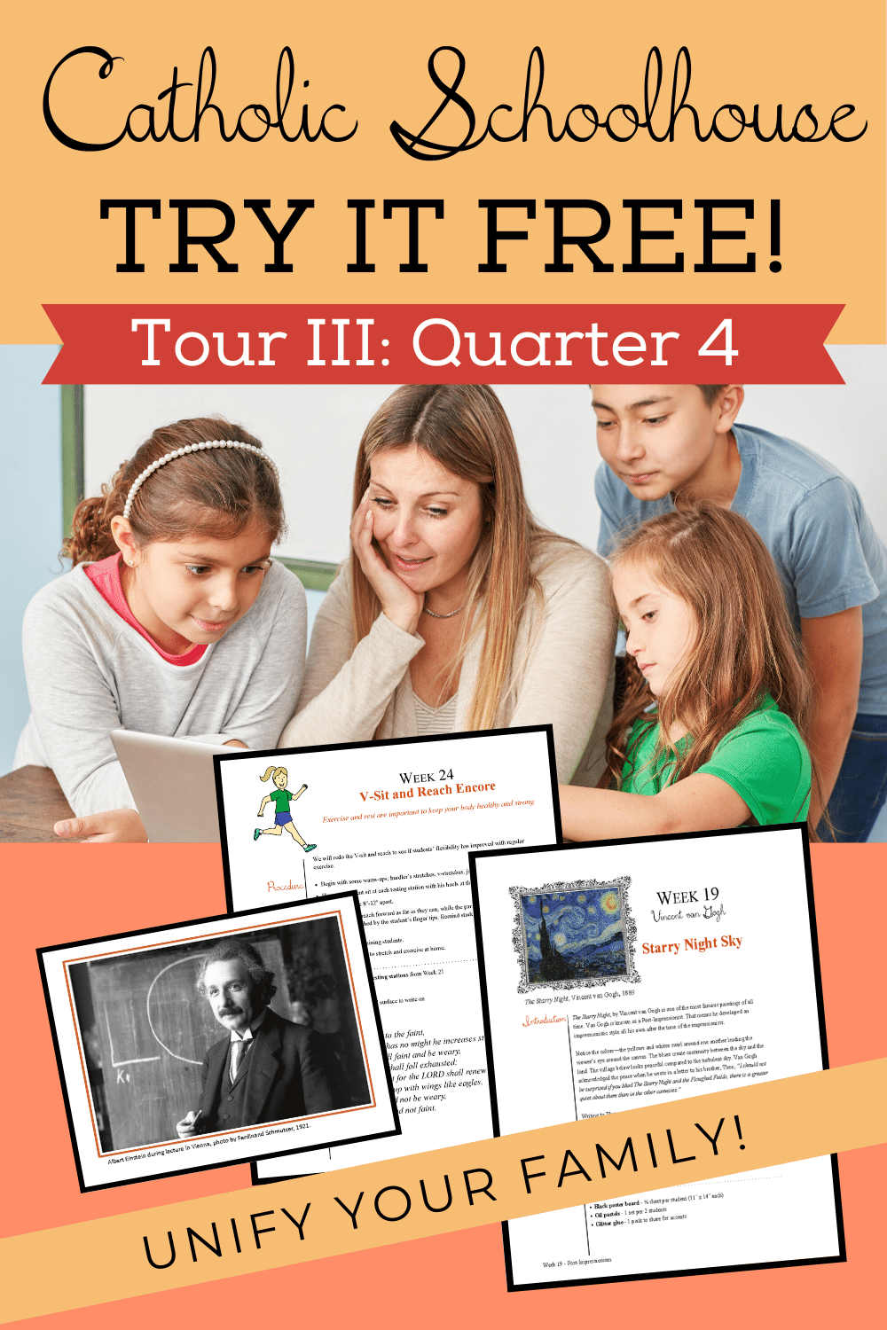 FREE! Try Catholic Homeschool for your Family