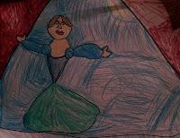 Degas Ballerina by Mary Anna, age 5