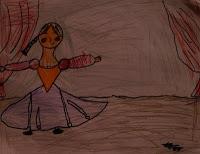 Degas Ballerina by Kolbe, age 8