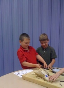 Exploring the African animals skulls from the York County Museum