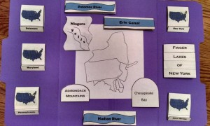 Mid-atlantic States Lapbook