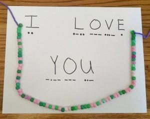 morse code jewelry kids
