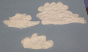 cumulus puffy paint clouds