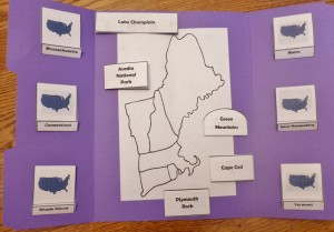 New England States Lapbook