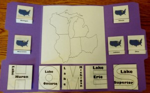 Great Lakes Lapbook