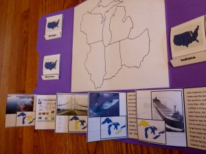 Great Lakes States Lapbook