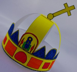 Printable Holy Crown of Hungary