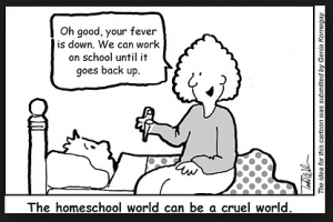 Todd Wilson Homeschool Cartoon