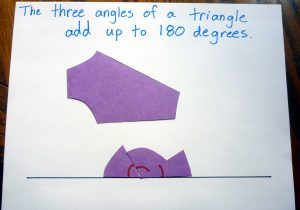 Triangle activity 180degrees