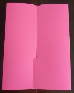 lapbook fold