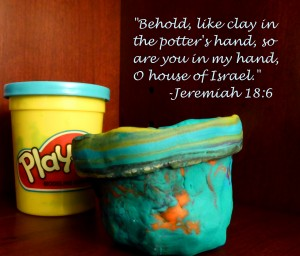 playdoh teaching jeremiah