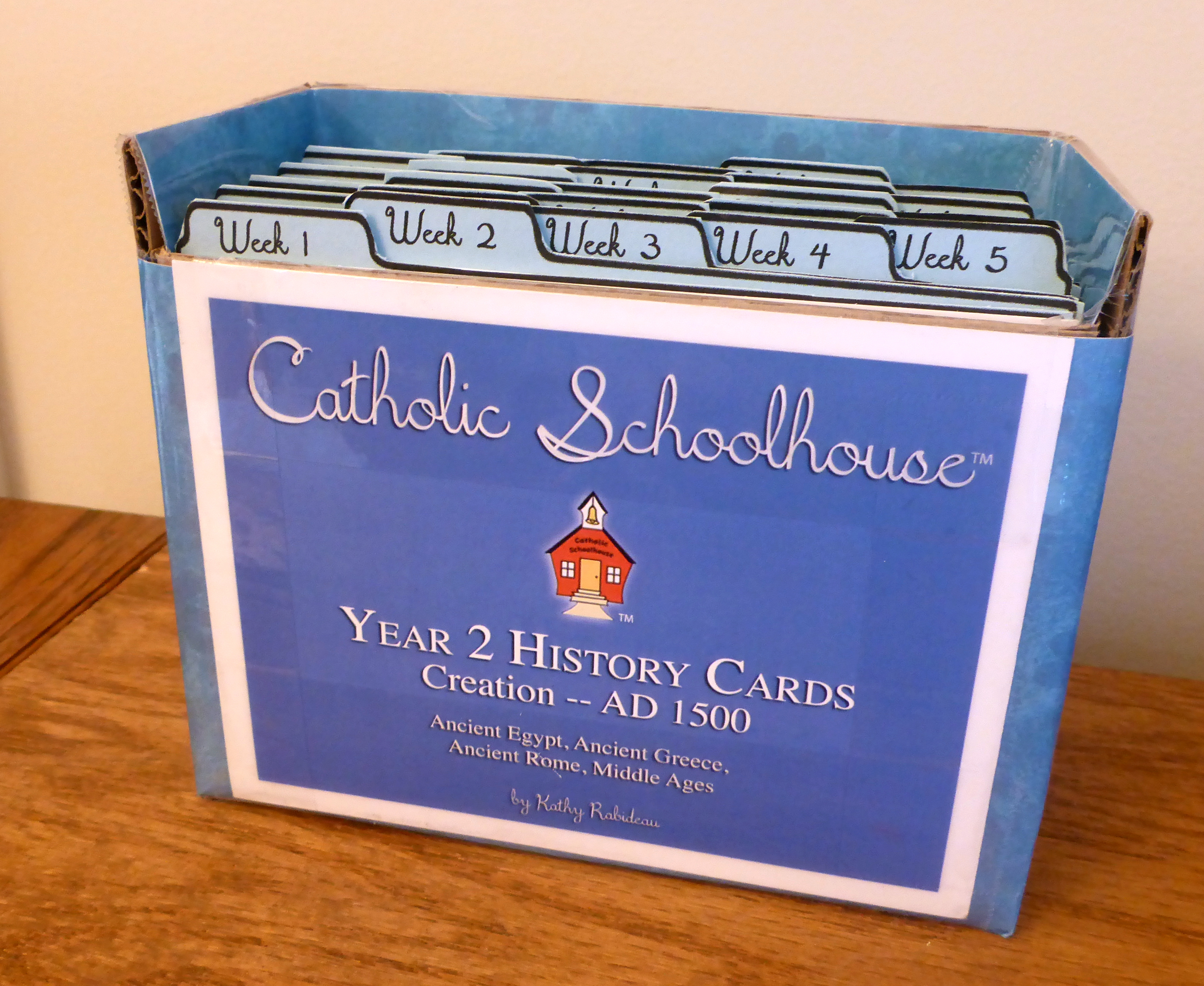 History Card Box building- a new template